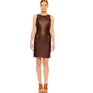 Michael Kors Leather Dress